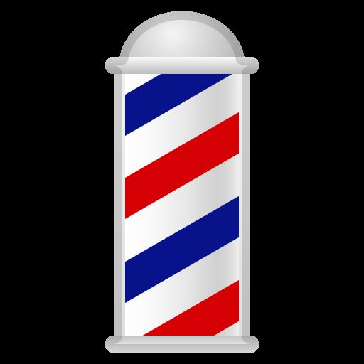 Barber Pole Icon Noto Emoji Travel Places Iconset Google