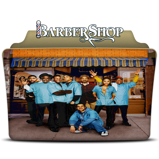 Barbershop Folder Icon
