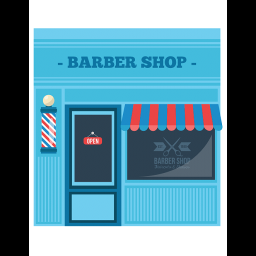 Barbershop Icon Building Collection Freepik