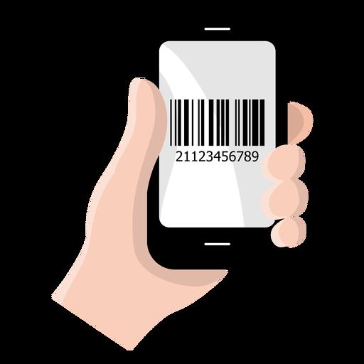 Smartphone Barcode Icon
