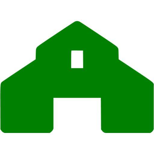 Green Barn Icon