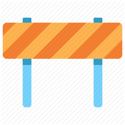 Barricade, Barrier, Block, Closed, Construction, Road, Traffic Icon