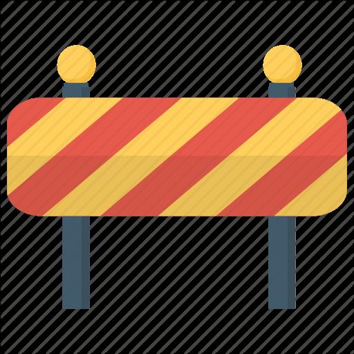 Barricade, Blockade, Construction Barrier, Maintenance Obstacle