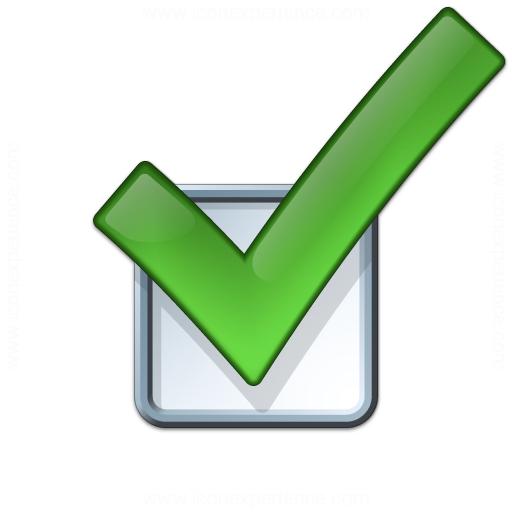 Iconexperience V Collection Checkbox Icon