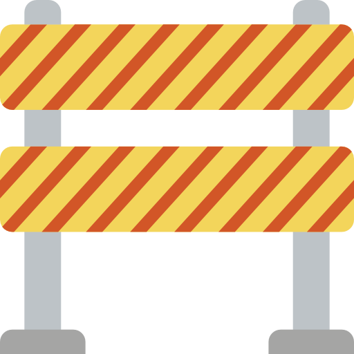 Barrier Icon Construction Smashicons