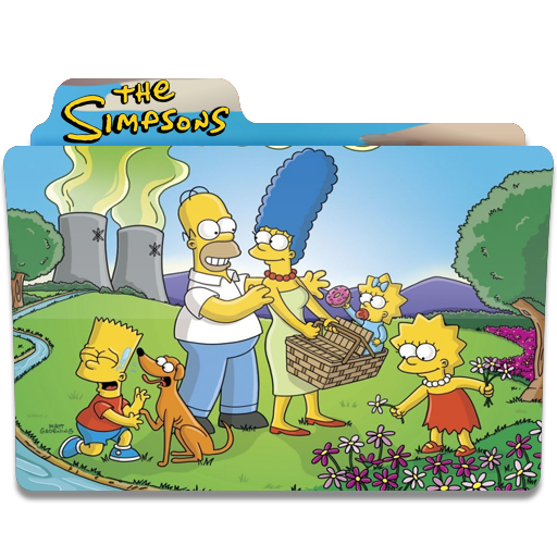The Simpsons, Folder, Folders, Springfield Icon Free Of Simpsons