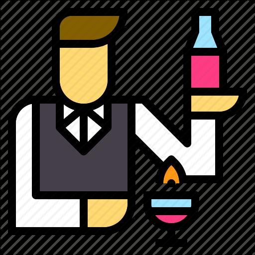 Avatar, Bar, Barman, Bartender, Cocktail, Drinks, Jobs Icon