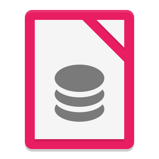 Libreoffice Base Icon Papirus Apps Iconset Papirus Development