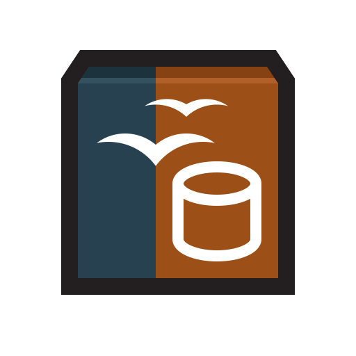 Openoffice Base Icon Flat Strokes App Iconset Hopstarter