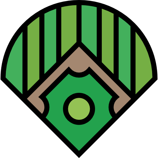 Baseball Field, Sports And Competition, Bat, Baseball, Sports