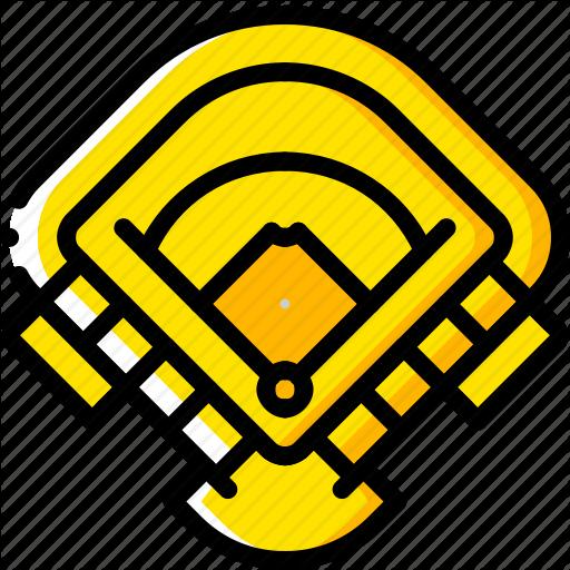 Baseball, Field, Pitch, Sport, Stadium Icon