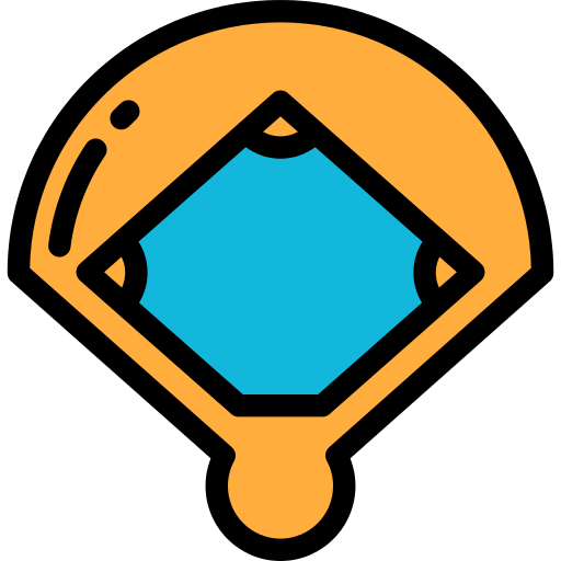 Baseball Field Sports Png Icon
