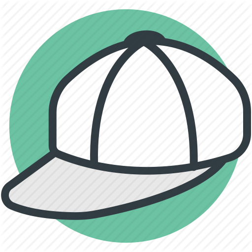 Baseball Cap, Cap, Cricket Cap, Fashion Cap, Sports Hat Icon