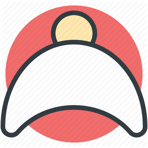 Baseball Hat, Cap, Headgear, Headwear, Sports Cap Icon