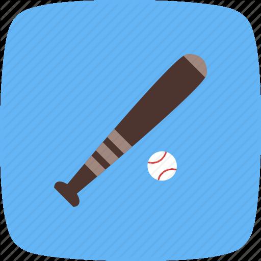 Base And Ball, Baseball Icon