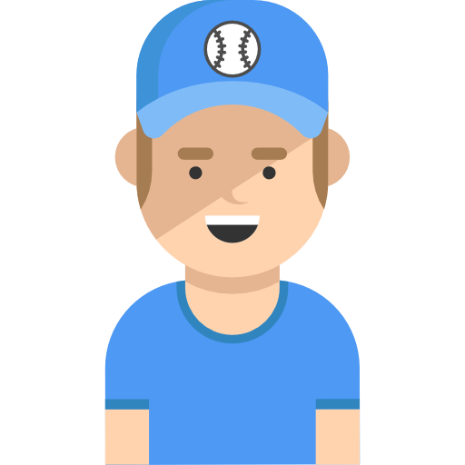 Avatar, User, Social, Baseball Player, Sports And Competition