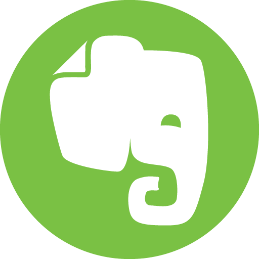 Evernote Icon Basic Round Social S Icons