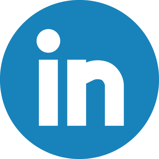 Linkedin Basic Round Social Icon Png
