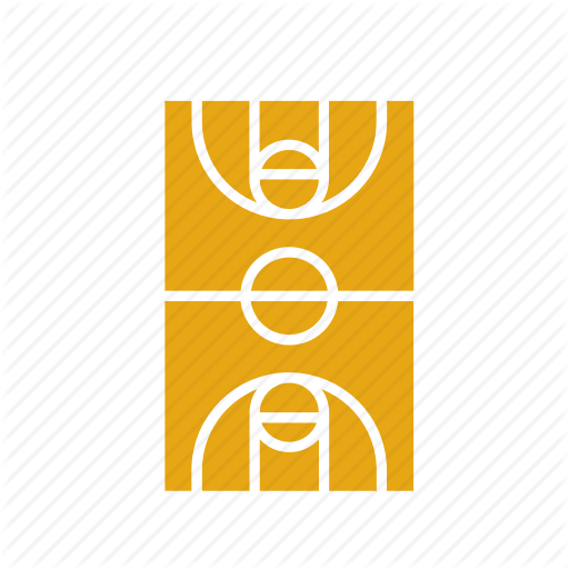 Ball, Basket, Basketball, Court, Sport, Sports Icon