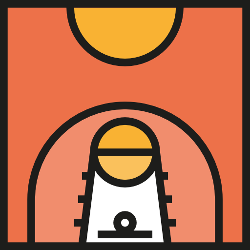 Basketball Court, Sports And Competition, Game, Basketball, Sports
