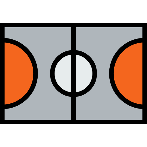 Basketball Court Png Icon