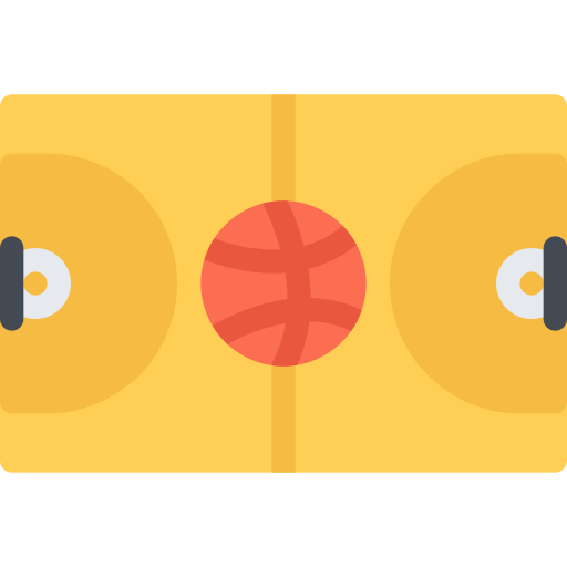 Basketball Court Playground Png Icon