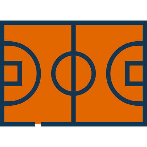 Game, Sports, Playground, Sportive, Basketball Court Icon