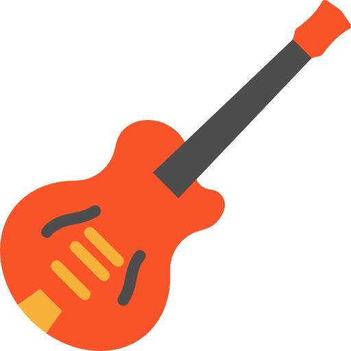 Electric Guitar, Bass Guitar, Musical, Music, Concert, Speaker Icon