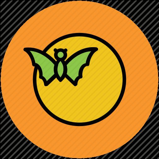 Bat, Dreadful, Evil Bat, Flying Bat, Ghost Bat, Halloween Bat Icon
