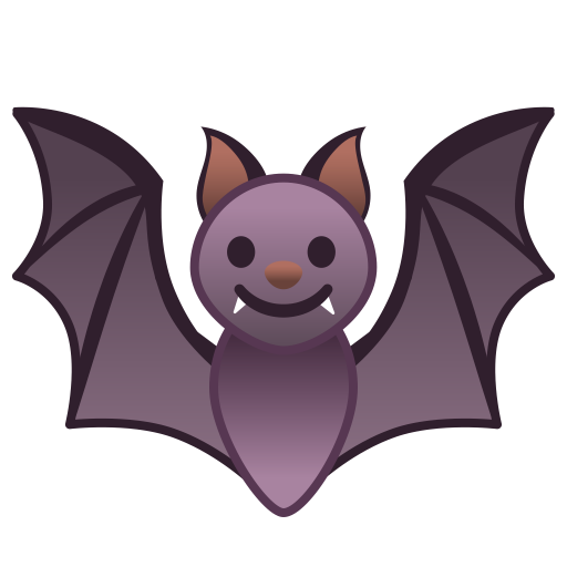 Bat Icon Noto Emoji Animals Nature Iconset Google