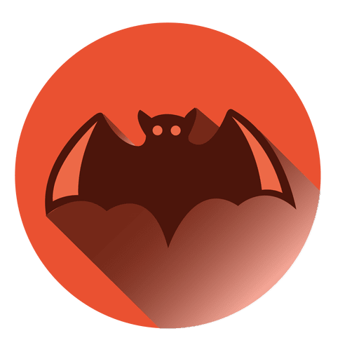 Bat Round Icon