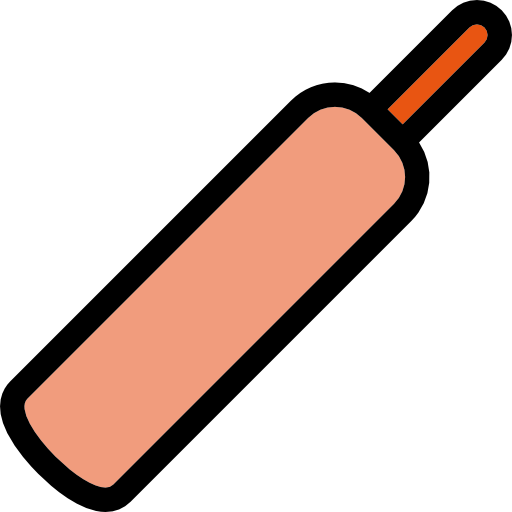 Cricket Bat Icons Free Download