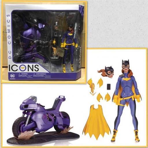 Batman Figura Cm Batgirl Of Burnside Con Moto Deluxe Dc Comics