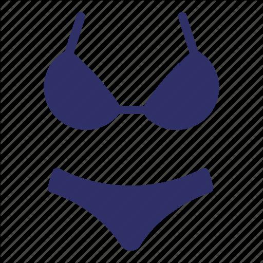 Bathing Suit, Bikini, Clothes, Summer, Underwear, Woman Icon