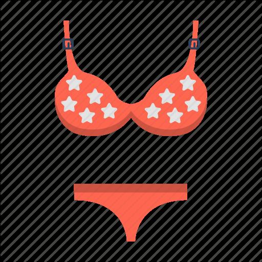 Bathing Suit, Bikini, Swimsuit, Swimwear, Travel, Two Piece Icon
