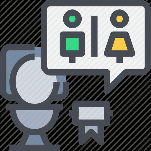 Bathroom, Restroom, Room, Toilet Icon