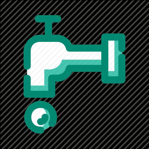 Bath, Tap, Water Icon