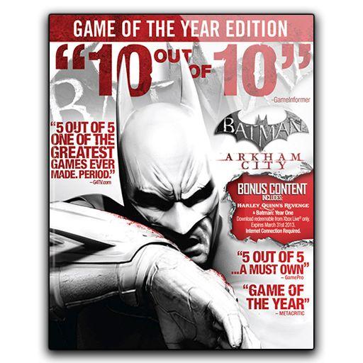 Icon Batman Arkham City