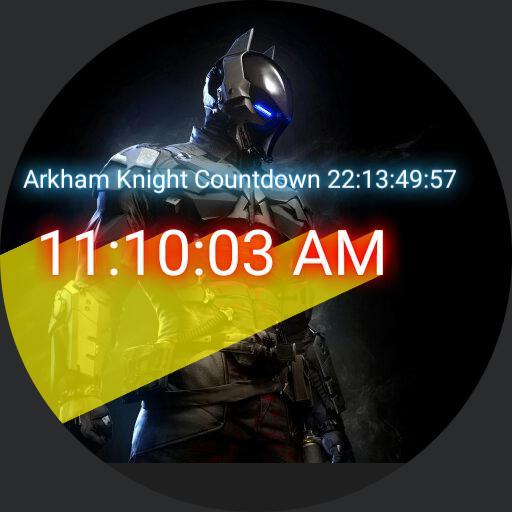Arkham Knight Countdown For Moto