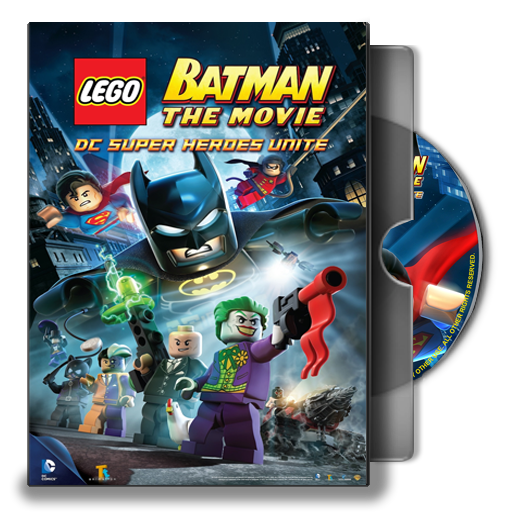 Dvd Folder Icon Lego Batman The Movie