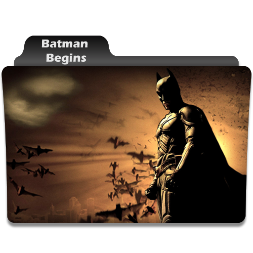 Folder Eyecons Batman Begins