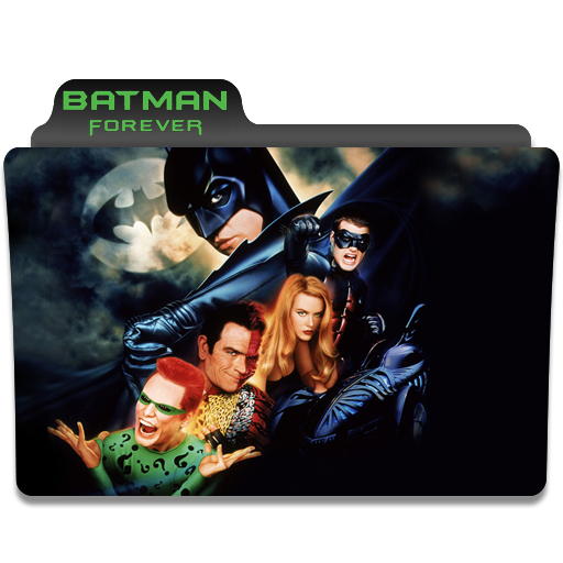Folder Eyecons Batman Forever