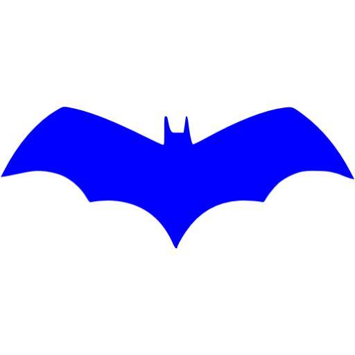 Blue Batman Icon