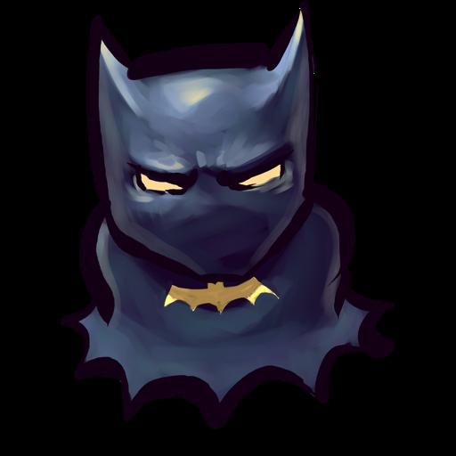 Comics Batman Icon Ultrabuuf Iconset Mattahan