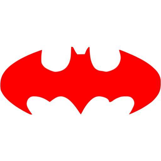 Red Batman Icon