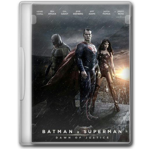 Batman V Superman Dawn Of Justice Folder Icon