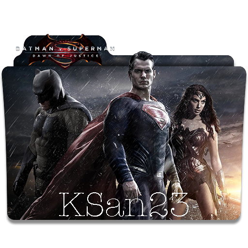 Batman V Superman Dawn Of Justice Icon