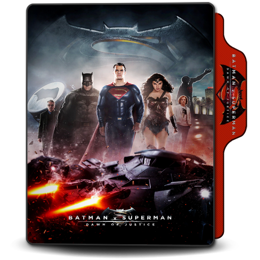 Folder Icon Batman V Superman Dawn Of Justice