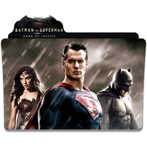 Icon Folder Batman V Superman