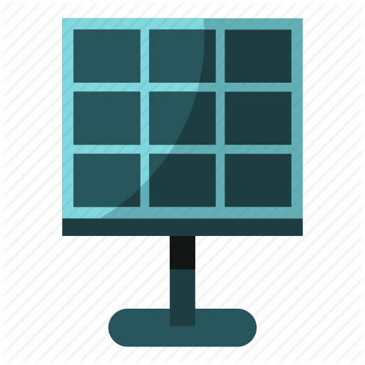 Panel, Power, Solar, Solar Battery, Sun, Sunlight, Voltage Icon